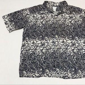 Calvin Klein Jeans Vintage Tropical Print SS Shirt